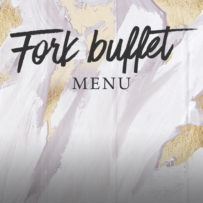 Fork buffet menu at The Kings Arms