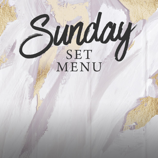 Sunday set menu at The Kings Arms